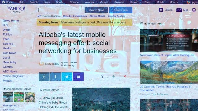 Alibaba's Latest Mobile Messaging Effort: Social Networking for Businesses