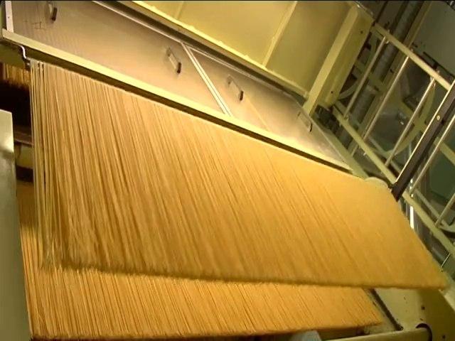La fabrication des pâtes