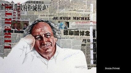 Michel Renaud, l'hommage des carnettistes