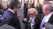 VIDEO. Echange au CHU de Poitiers entre Bernadette Chirac et Alain Claeys à propos de la LGV Poitiers Limoges