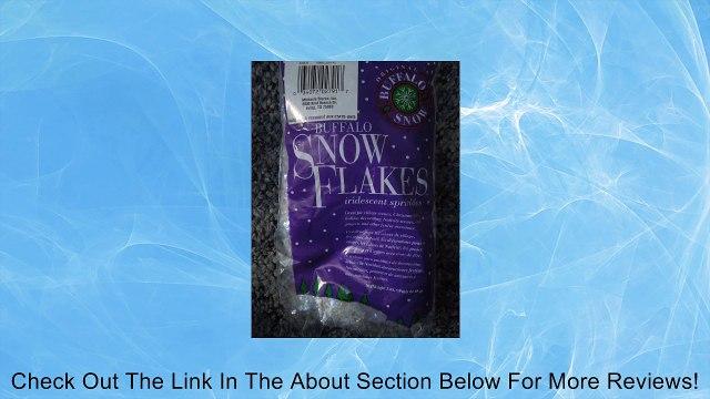 Buffalo Snow Flakes Irridescent Sprinkles 3 Oz. Review