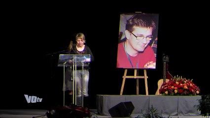Cérémonie d'hommage à Charb