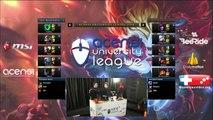 Demi-Finale League of Legends Partie 3 - ENC Bessière vs Centrale Lyon - Paris - ACENSI University League