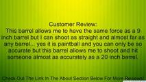 """Trinity Tactical 14"""" Paintball Barrel for Tippmann A5, Tippmann Tpx,tippmann X7, Tippmann Phenom, Bt Combat, Bt Omega, Bt Banshee, Bt Erc, Bt Delta, Bt Delta Elite. Review"""