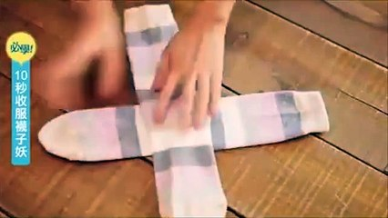 Uzela Je Par Čarapa I Složila Jednu Preko Druge. Ovaj Trik Će Vas Oduševiti.