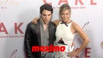 Jennifer Aniston & Chris Messina CAKE Los Angeles Premiere Arrivals