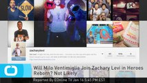 Will Milo Ventimiglia Join Zachary Levi in Heroes Reborn? Not Likely