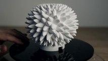 Sculptures de Fibonacci imprimées en 3D : juste magique!
