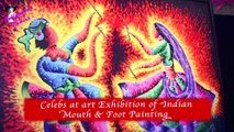 Celebs at art Exhibition of 'Indian  Mouth & Foot Painting