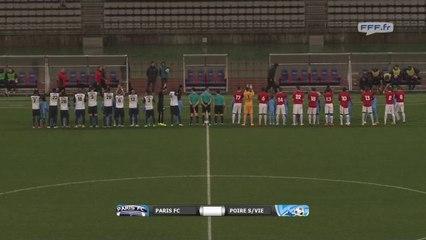 Paris FC 1 - 0 Le Poiré (16-01-2015)