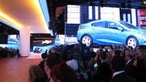 GM CEO Mary Barra Introduces a New Chevy VOLT at 2015 NAIAS -- Bob Giles at NerwCarNews.TV