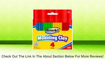 RoseArt Modeling Clay, 4 Pieces, Assorted Colors, Packaging May Vary (40073UA-24) Review