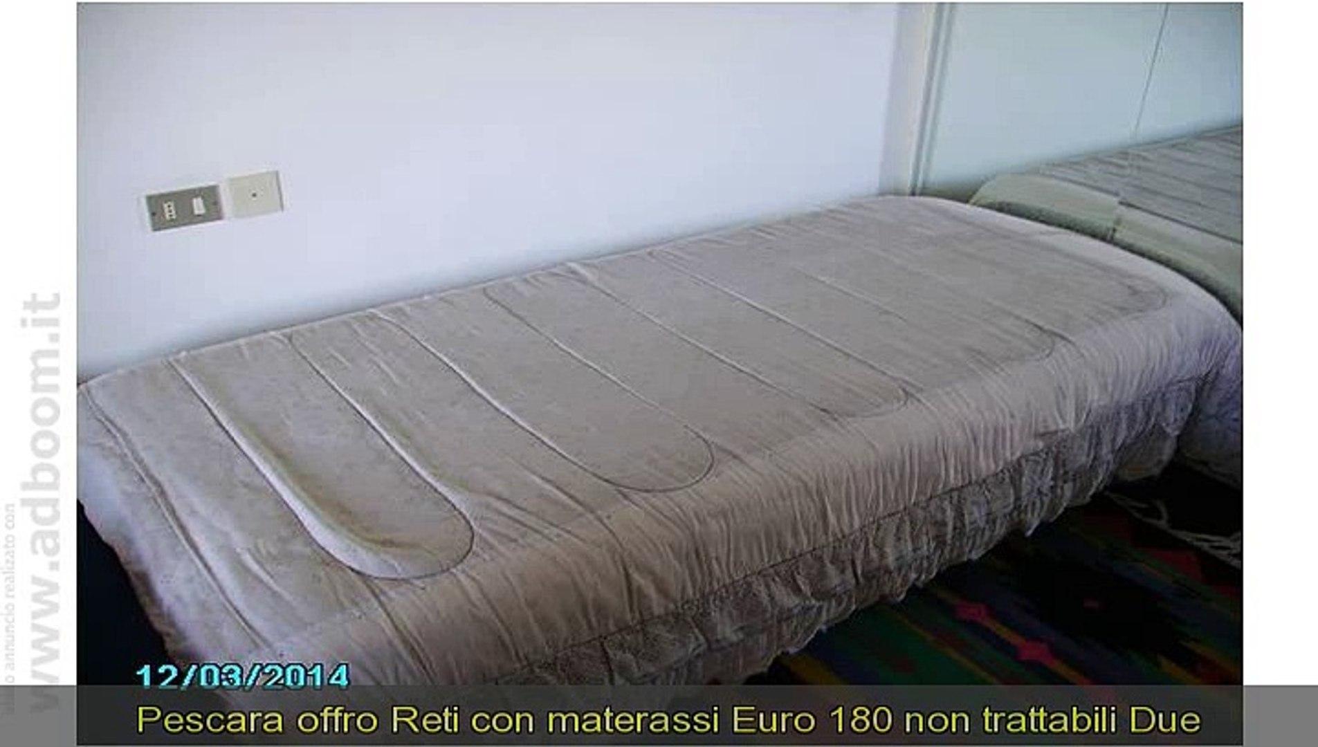 Materassi Pescara.Pescara Montesilvano Reti Con Materassi Euro 180 Video Dailymotion