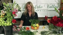 Wedding Flowers and Floral Arrangements - How to Use Fresh Fruit in Floral Arrangements