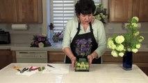 DIY Brides Lime Wedding Centerpieces - Floral Arrangements for Weddings and Centerpieces