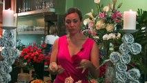 Wedding Floral Arrangements - How to Make a Rose Wedding Bouquet