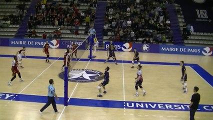 Balle de match de la rencontre Paris Volley - Chaumont VB 52