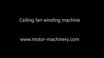 Ventilator ceiling fan winding