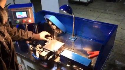 Simple armature turning machine