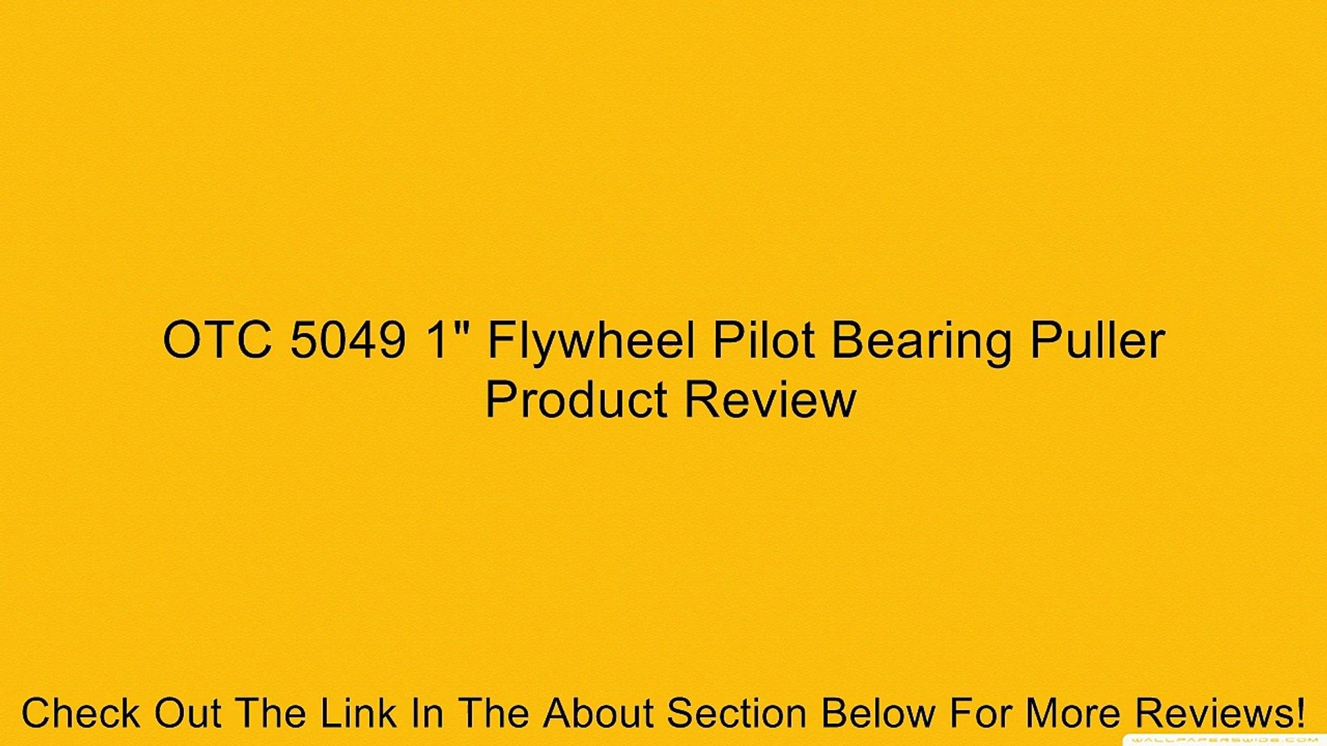 OTC 5049 1 Flywheel Pilot Bearing Puller
