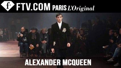 Alexander McQueen Men Fall/Winter 2015 | London Collections: Men | FashionTV