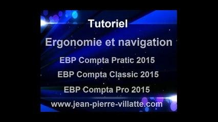 EBP Compta 2015 : Ergonomie et navigation