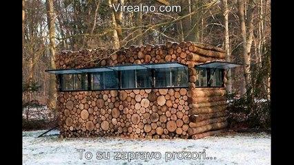 Na Prvi Pogled Izgleda Kao Hrpa Drva Za Ogrjev, Ali Pogledajte Šta Je Zapravo!