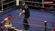 Boxe Thaï. Combat Pro Muay Thaï : Thierry Berichel contre Adrien Gref