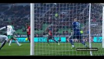 Rennes 0-0 St Etienne - Highlights - 18-01-2015