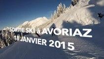 Sortie Ski Avoriaz 18 Janvier 2015