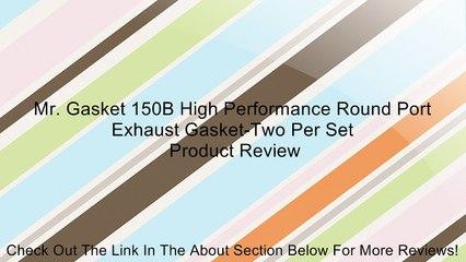 Gasket 378 Valve Cover Gasket Cylinder Bolt Head-Two Per Set Mr Gasket Mr