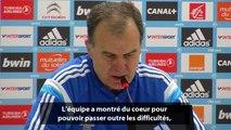 OM-Guingamp : la réaction de Bielsa