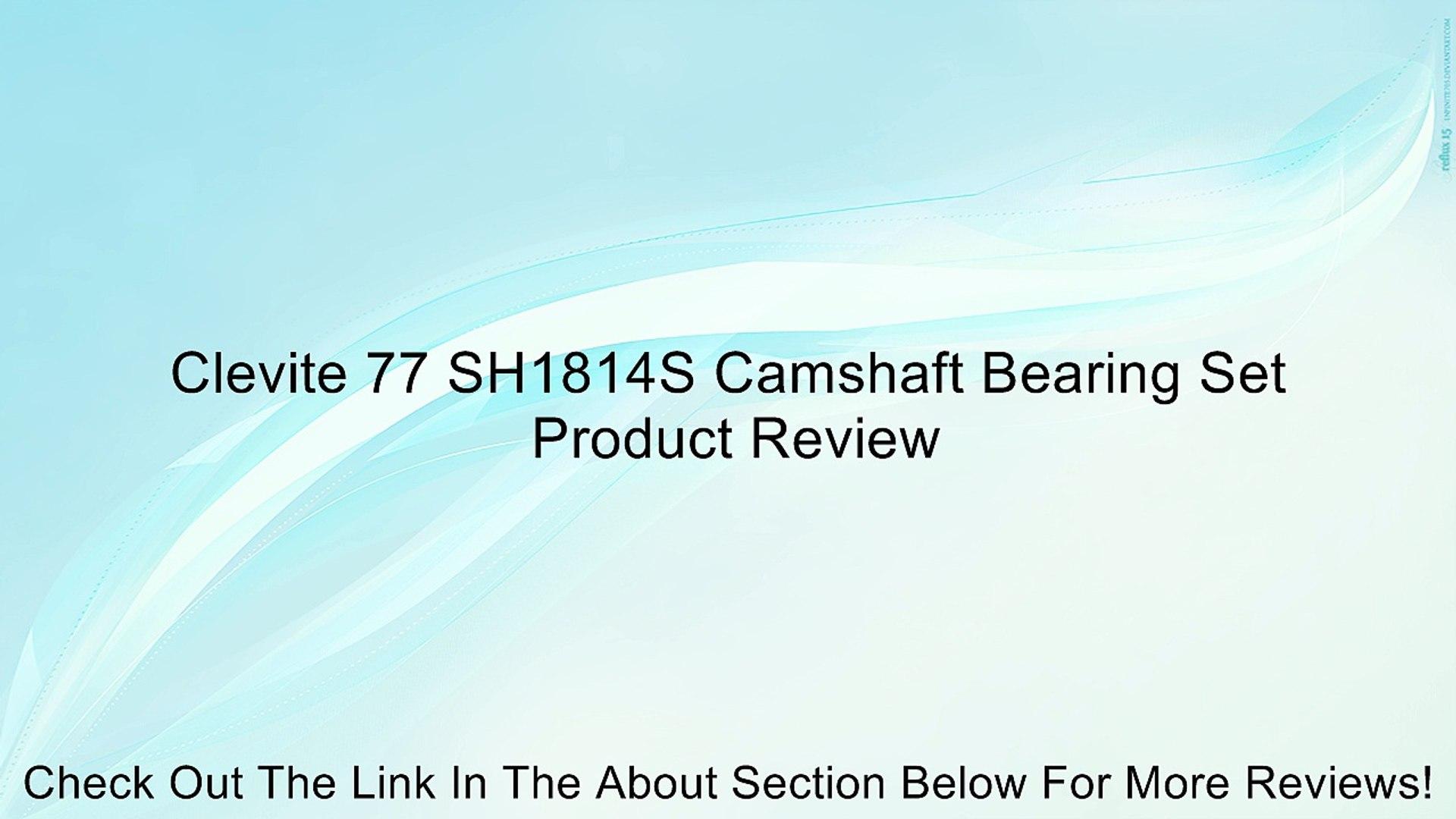 Clevite SH1814S Camshaft Bearing Set:Chevrolet V8 1997-03 293-325-346-364