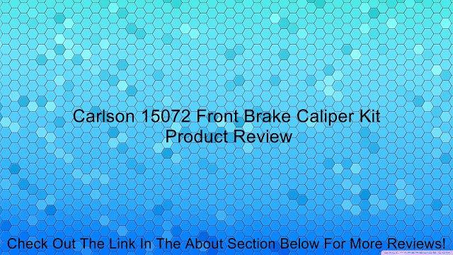 Carlson Quality Brake Parts 15082 Caliper Repair Kit