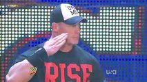 WWE Raw 10_24_11 John Cena vs AwesomeTruth (John Cena Chooses The Rock as his Tag Team Partner)