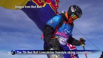 Les Arcs hosts Red Bull freestyle backcountry ski competition
