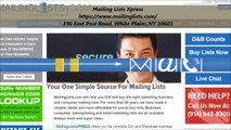 Mailing Lists Xpress : Business Mailing Lists in White Plains, NY