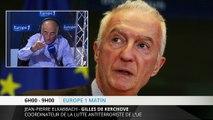 """De Kerchove : """"12 pays plus menacés que les autres en Europe"""""""