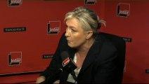 """Marine Le Pen : """"C'est tellement facile de défendre la liberté d'expression de ceux qui pensent comme vous"""""""