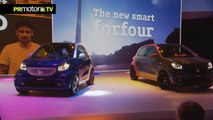 Aquí los tienes! Presentacion Smart Fortwo y Smart Forfour - Car News TV en PRMotor TV Channel (HD)