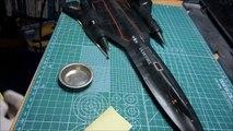 Italeri 1/72 SR-71 Blackbird plamo build 5