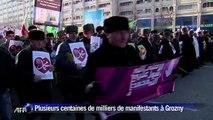 Tchétchénie: des centaines de milliers de manifestants à Grozny contre toute caricature de Mahomet