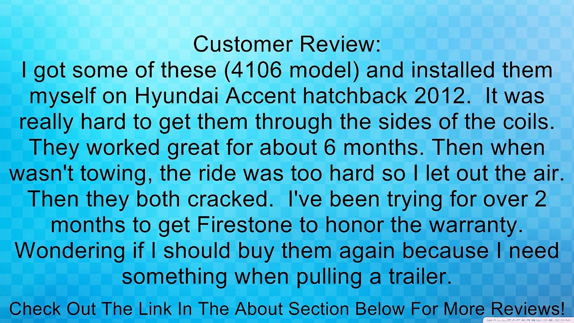 Firestone W237604108 Coil-Rite Kit Review