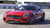 Probamos el nuevo Mercedes Benz AMG – GTS en Laguna Seca - Car News TV en PRMotor TV Channel (HD)
