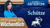 Monatliches Horoskop zum Sternzeichen Schütze (19-25 Januar 2015)
