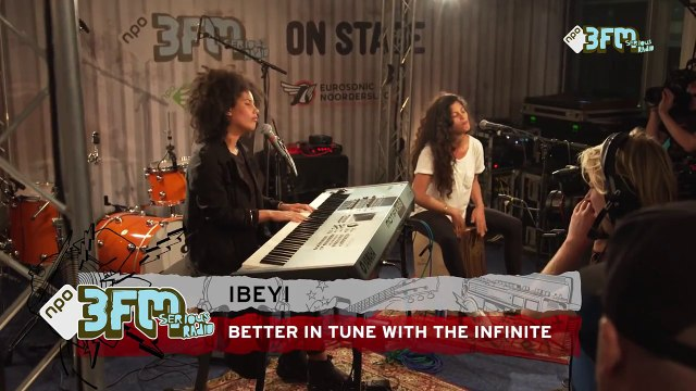 Ibeyi - 'Better In Tune With The Infinite' @ 3FM On Stage ESNS15