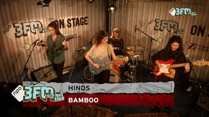 Hinds - 'Bamboo' op ESNS15 bij 3FM On Stage