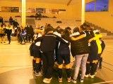 Les U18 Féminines fêtent leur victoire en Coupe du Rhône Futsal