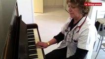 Guingamp. Soins palliatifs : en cadeau, un piano qui apaise