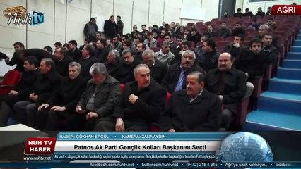 Patnos Ak Parti Gençlik Kolları Başkanını Seçti